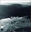Pohled od Petrových kamenů na Ovčárnu 1946